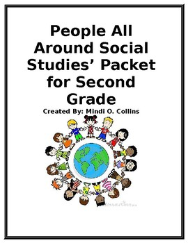 People All Around Social Studies' Packet for Second Grade