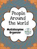 People Around the World Organizer