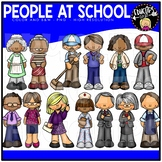People At School Clip Art Bundle {Educlips Clipart}