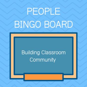 People Bingo Board
