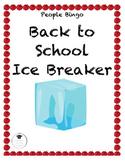 People Bingo Ice Breaker