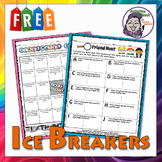 People Bingo & Friend Finder - 2 Ice Breakers for ANY Class