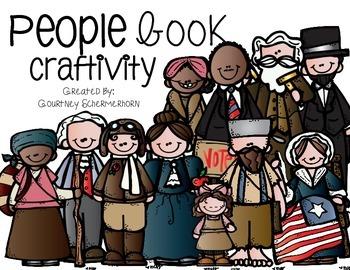 People Book Craftivity
