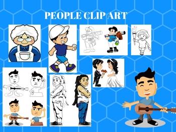 People Clip art Bundle