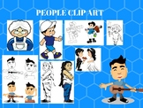 People Clip art Bundle