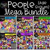 People Clipart Mega Bundle ($48.00 Value) {Creative Clips