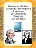 People, Documents & Government Notes & Activities: Virginia Studies 6a, 6b, &10a
