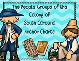 South Carolina Colony People Groups Anchor Charts