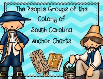 South Carolina Colony People Groups Anchor Charts