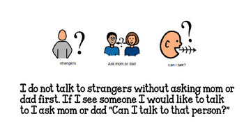 People I Can Talk to Social Story