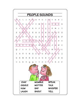 People Make Sounds Puzzles ★ FREEBIE ★