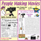 People Making Movies (Jobs, Careers, Film and Labor Day)