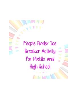 People Matcher Ice Breaker