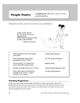 People Poetry