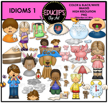 People Say The Funniest Things Clip Art Bundle {Educlips Clipart}