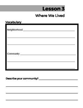 People Together Grade 2 - Unit 1 - Worksheets