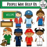 People Who Help Us - Community - Clipart - Personal and Commercial Use!