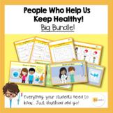 People Who Help Us Keep Healthy | Big Bundle | PPT/Worksheets/Games
