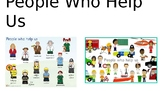 People Who Help Us photo powerpoint presentation