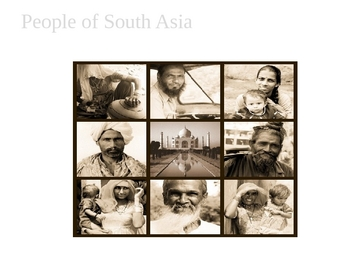 People and Culture of South Asia