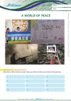 People and Cultures - A World of Peace - Grade 6