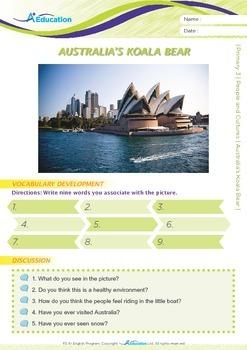 People and Cultures - Australia's Koala Bear - Grade 3