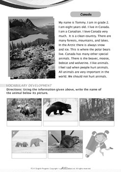 People and Cultures - Canada - Grade 2