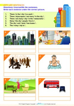 People and Cultures - Cities - Grade 2