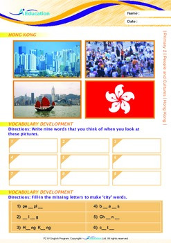 People and Cultures - Hong Kong - Grade 2