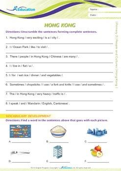 People and Cultures - Hong Kong - Grade 3