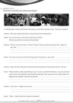 People and Cultures - Hong Kong - Grade 6