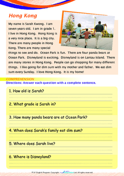 People and Cultures - Hong Kong(II)- Grade 1 (with 'Triple-Track Writing Lines')