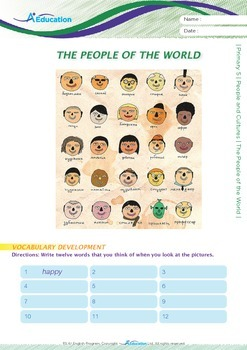 People and Cultures - The People of the World - Grade 5