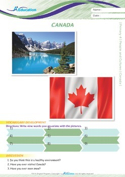 People and Cultures - Canada - Grade 4