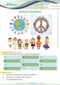People and Cultures - World Harmony - Grade 4