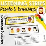 People and Emotions Listening Strips for Critical Elements