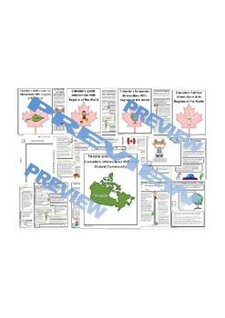 Complete Grade 6 Ontario Social Studies Inquiry-Based Unit (People)