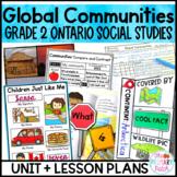 People and Environments: Global Communities Grade 2 Ontario Social Studies