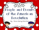 People and Events of the American Revolution: Graphic Organizers