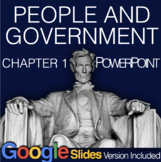 People and Government PowerPoint with video clips & Presenter Notes