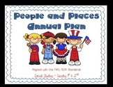 People and Places Social Studies Annual Plans for 1st & 2n