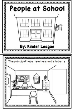 People and Places at School- A Welcome to School mini-unit by Kinder League
