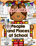 People and Places at School- A Welcome to School mini-unit
