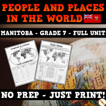 People and Places in the World - Manitoba Social Studies Unit - Grade 7