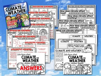 People and their environment - CLIMATE vs WEATHER