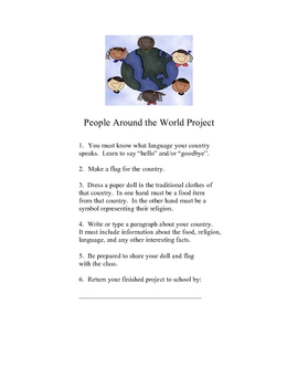 People around the World Project