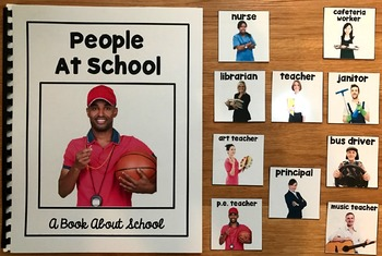 People at School Unit (w/Real Photos)