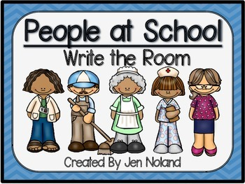 People at School-Write Around the Room