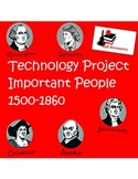 2 in 1 - People in American History from 1500 - 1860  Tech