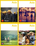People of Asia (Montessori Cards for Continent Box)